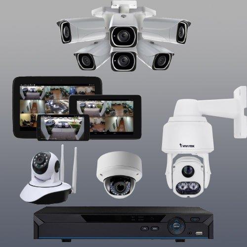 دوربین مداربسته و تجهیزات جانبی